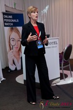 Ann Robbins (CEO of eDateAbility) at the iDate Dating Business Executive Summit and Trade Show