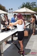 Lunch at the 2011 Online Dating Industry Conference in Beverly Hills