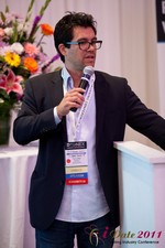 Tai Lopez (CEO of DatingHype.com) at iDate2011 Beverly Hills