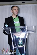 Sam Yagan - OKCupid - Winner of Most Innovativee Company 2012 at the 2012 Internet Dating Industry Awards Ceremony in Miami