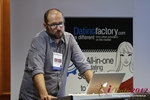 Matteo Monari (Co-Founder of BizUp) at the September 10-11, 2012 Mobile and Online Dating Industry Conference in Germany