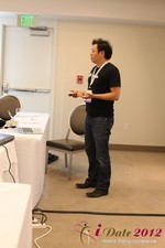 Andy Kim (CEO of Mingle)  at the June 20-22, 2012 Mobile Dating Industry Conference in Los Angeles