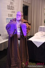 Jonathan Crutchley (Chairman at Manhunt) is actually Obi Wan Kenobi! at the June 20-22, 2012 Mobile Dating Industry Conference in Los Angeles