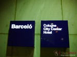 The Barcelo Hotel at the 2013 Cologne E.U. Mobile and Internet Dating Summit and Convention