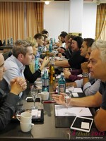 Speed Networking at the 2013 Cologne E.U. Mobile and Internet Dating Summit and Convention
