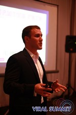 John Jacques - Sr Acct Executive at Virool at the 34th Mobile Dating Industry Conference in Beverly Hills
