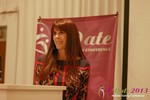 Julie Spira - CEO of CyberDatingExpert.com at the 34th Mobile Dating Business Conference in L.A.