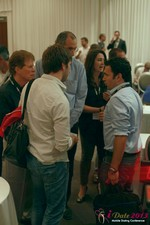 Networking at the June 5-7, 2013 Mobile Dating Business Conference in L.A.