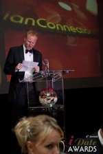Dan Winchester reading on behalf of ChristianConnection.co.uk, winner of Best Niche Dating Site at the January 17, 2013 Internet Dating Industry Awards Ceremony in Las Vegas