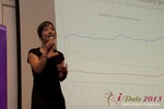 Charisma Levonleigh  (Google) at the 2013 Las Vegas Digital Dating Conference and Internet Dating Industry Event