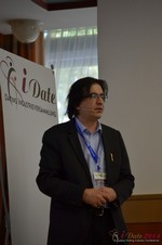Francesco Nuzzolo, France Manager for Dating Factory  at the 11th Annual E.U. iDate Mobile Dating Business Executive Convention and Trade Show