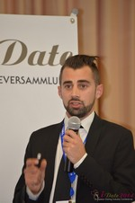 Matthew Banas, CEO of NetDatingAssistant  at the September 7-9, 2014 Mobile and Internet Dating Industry Conference in Koln