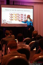 Axel Vezina, Chief Analytics Officer For Crak Media On Best Strategies For Mobile Dating Conversions  at the 2014 Internet and Mobile Dating Business Conference in Beverly Hills