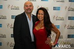 Sean Kelley & Carmelia Ray  in Las Vegas at the January 15, 2014 Internet Dating Industry Awards