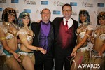 Marc Lesnick & Mark Brooks (iDate Awards Thanks You!) at the 2014 Internet Dating Industry Awards in Las Vegas