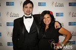 Arthur Malov & Damona Hoffman  at the 2014 Las Vegas iDate Awards