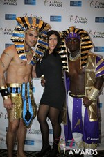 Enjoying the scenery  at the 2014 Internet Dating Industry Awards Ceremony in Las Vegas