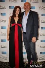 Tatyana Seredyuk & Sean Kelley  at the January 15, 2014 Internet Dating Industry Awards Ceremony in Las Vegas