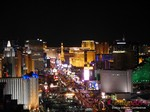 View of Las Vegas Strip - Party @ Foundation Room at the January 14-16, 2014 Las Vegas Internet Dating Super Conference