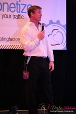 Dr. Jeff Collier - CEO of MateSafe at the January 14-16, 2014 Internet Dating Super Conference in Las Vegas