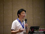 Dr. Song Li - CEO of Zhenai at the 41st iDate2015 China convention