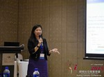 Violet Lim - CEO of Lunch Actually at the 2015 China Internet Dating Industry Conference in China
