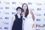Irena Stepanova and Elena Kolyasnikova at the 2015 Internet Dating Industry Awards Ceremony in Las Vegas