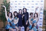 Media Wall with Awards Dancers at the January 15, 2015 Internet Dating Industry Awards Ceremony in Las Vegas