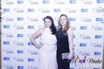 Genevieve Zawada and Sarah Ryan at the 2015 Internet Dating Industry Awards Ceremony in Las Vegas