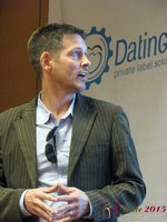 Justin Parfitt - CEO of HeyLets at the 2015 Las Vegas Digital Dating Conference and Internet Dating Industry Event