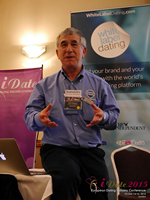 Dave Wiseman Vice President Of Sales And Marketing Speaking To The European Dating Market On Scam Detection Technology at the 12th annual United Kingdom & European Union iDate conference matchmakers and online dating professionals in London