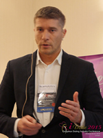 Hristo Zlatarsky CEO Elitebook.bg With Insights On The Bulgarian Mobile And Online Dating Market at the 2015 London European Mobile and Internet Dating Expo and Convention