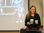 Megan Buquen CEO Matchmakers Circle  at the 2015 European Internet Dating Industry Conference in London