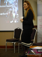 Megan Buquen CEO Matchmakers Circle  at the 42nd international iDate conference for global dating professionals in London