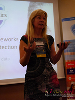 Monica Whitty Professor Of Psychology University Of Liecester at the 12th annual United Kingdom & European Union iDate conference matchmakers and online dating professionals in London