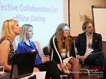 Panel On Effective Collaboration For Offline Dating At at the 12th annual United Kingdom & European Union iDate conference matchmakers and online dating professionals in London