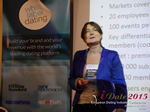 Pauline Tourneur General Manager Of Attractive World Speaking On The French Online And Mobile Dating Market  at the 2015 London United Kingdom & European Union Mobile and Internet Dating Expo and Convention