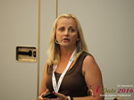 Krystina Trushnya - Publisher of Ukranian Dating Blog at the 2016 P.I.D. Industry Conference in Cyprus