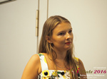 Svetlana Mukha - CEO of Diolli at the 2016 Premium International Dating Industry Conference in Cyprus