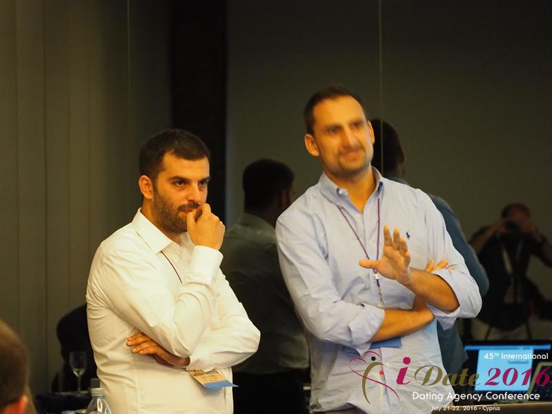 Представитель правления Google на 45ой Международной Премиум конференции индустрии знакомств в Лимассоле, Кипр