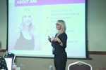 Ane Auret, CEO, presenting on Coaching Programs that work at the September 26-28, 2016 Mobile and Online Dating Industry Conference in Londres