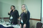 Genevieve Zawada and Arlene Vasquez reporting on the 2016 State of Matchmaking in Europe and the U.K.  at the 2016 Londres Europeia Mobile and Internet Dating Expo and Convention